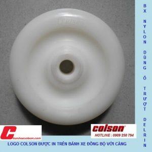 Bánh Xe Càng Inox 304 Bánh Xe Nhựa Nylon Pa Tải Trung Banhxecolson.com