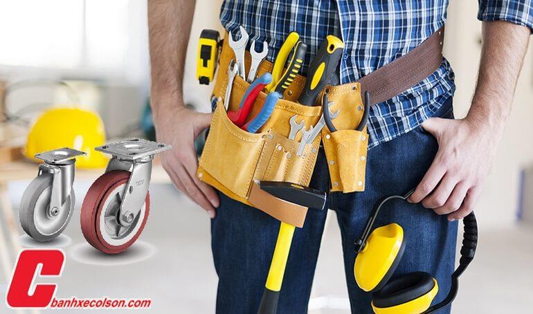 bảo trì bánh xe colson maintenance banhxecolson.com