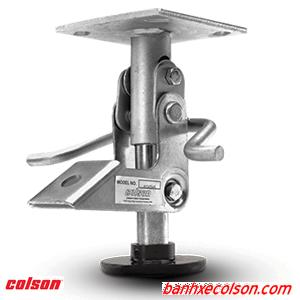 Khóa Sàn Xe đẩy Hàng Colson Floor Lock Brake Banhxecolson.com