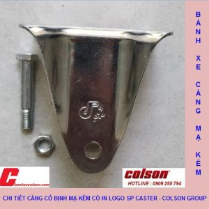 Chi Tiết Càng Cố định Sp2 Caster Colson Banhxecolson.com