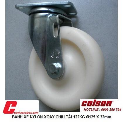 Giá Bánh Xe Tự Xoay Nhựa Nylon Phi 125 S2 5256 255c Banhxecolson.com