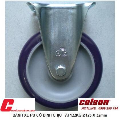 Mua Bánh Xe Phi 125 Không Xoay Nhựa Pu S2 5258 95p Banhxecolson.com