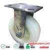 bánh xe đẩy 200mm càng inox 304 cố định Nylon 4-8498-824 banhxecolson.com