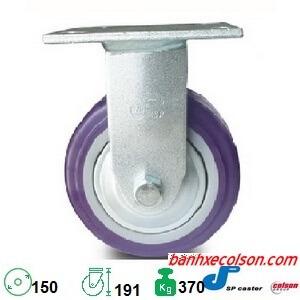 Bánh Xe đẩy Hàng Pu 150x51mm Càng Chết S4 6208 925p Banhxecolson.com