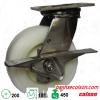 bánh xe di động có khóa cản càng inox d200 4-8499-824-BRK3 banhxecolson.com