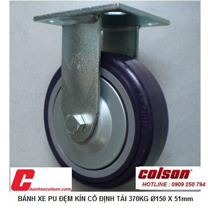 Hình Thực Tế Bánh Xe đẩy Hàng Pu 150x51mm Càng Chết S4 6208 925p Banhxecolson.com