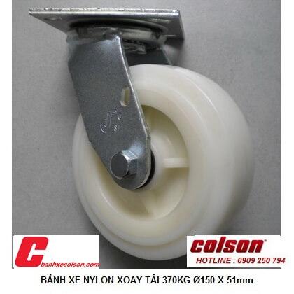 Hình Thực Tế Bánh Xe Xoay Công Nghiệp 125x51mm Nylon S4 5209 829 Banhxecolson.com