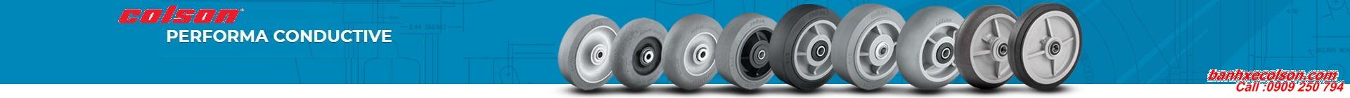 Các loại bánh xe cao su chống tĩnh điện colson banhxecolson.com