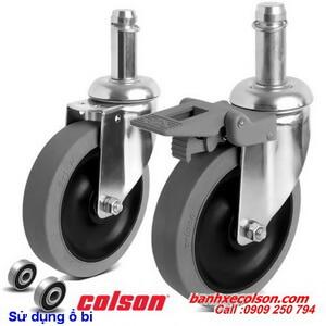 bánh xe cao su chịu lực lắp trục trơn 22mm chống tĩnh điện banhxecolson.com
