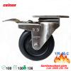 Bánh xe chịu nhiệt có khóa phi 100 càng inox 2-4456-53HT-BRK4 banhxecolson.com