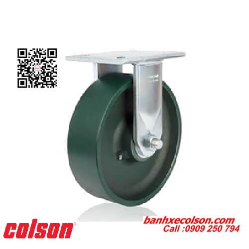Bánh xe đẩy siêu tải trọng thép rèn cố định banhxecolson.com