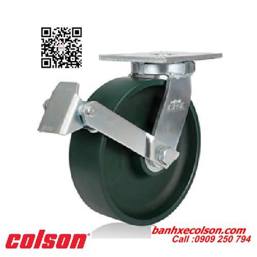 Bánh xe đẩy siêu tải trọng thép rèn xoay khóa banhxecolson.com