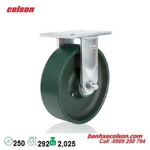 bánh xe 250mm siêu tải 2,025kg càng thép dày 9.5mm 7-10678-279 banhxecolson.com