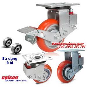 Bánh xe đẩy pu giảm xóc ( Shock Absorbing Caster ) Colson Mỹ banhxecolson.com