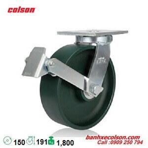 Bánh xe đẩy hàng chịu lực 1,800kg có khóa d150 7-6679-269BRK1 banhxecolson.com
