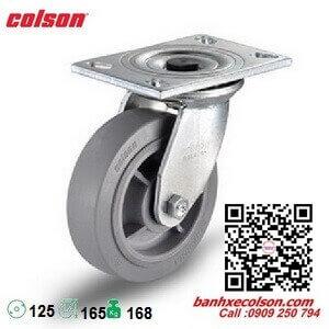 bánh xe cao su chịu lực 168kg d125 càng xoay Colson 4-5109-459 banhxecolson.com