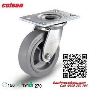 bánh xe cao su xoay phi 150 chịu lực 270kg Colson 4-6109-459 banhxecolson.com