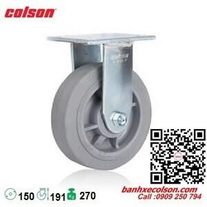 bánh xe đẩy cao su đặc 150 (6 inch) cố định Colson 4-6108-459 banhxecolson.com