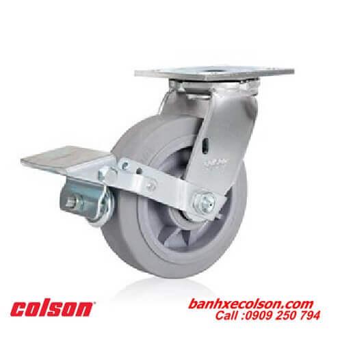 Bánh xe đẩy cao su Performa Colson càng có khóa banhxecolson.com