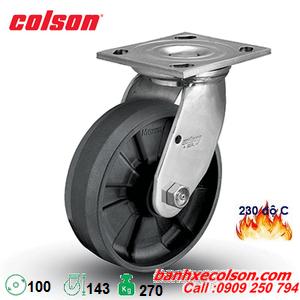 Bánh xe đẩy chịu nhiệt độ cao xoay phi 100x51mm 4-4109-839HT banhxecolson.com
